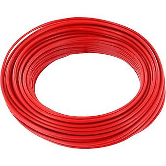 Jumper wire 1 x 0.20 mm² Red BELI-BECO D 105/10