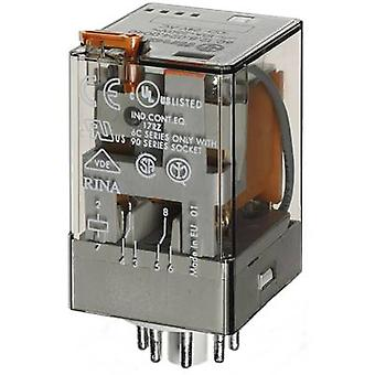 Plug-in relay 230 Vac 10 A 2 change-overs Finder 6
