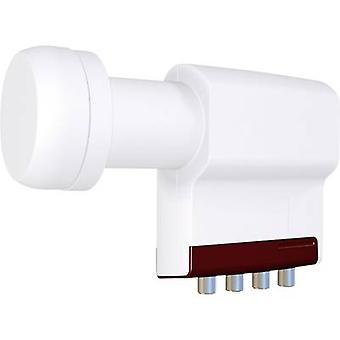 Quad LNB Inverto RED Extend No. of participants: 4 LNB feed size: 40 mm with switch