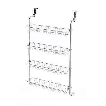 4 tier Over dør hængende Rack / hylder For Pantry eller opbevaring skab