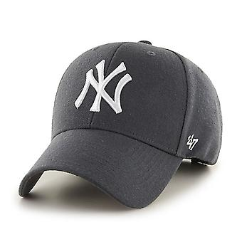 47 Brand New York Yankees MVP Cap - Charcoal