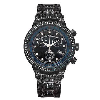 Joe Rodeo diamond men's watch - MASTER Black 4.75 ctw