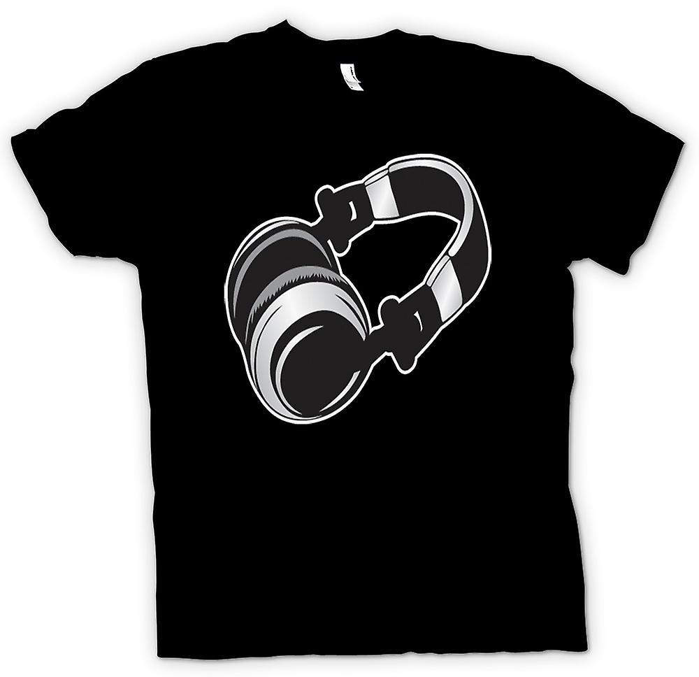 Kids T-shirt - DJ Headphones Old School
