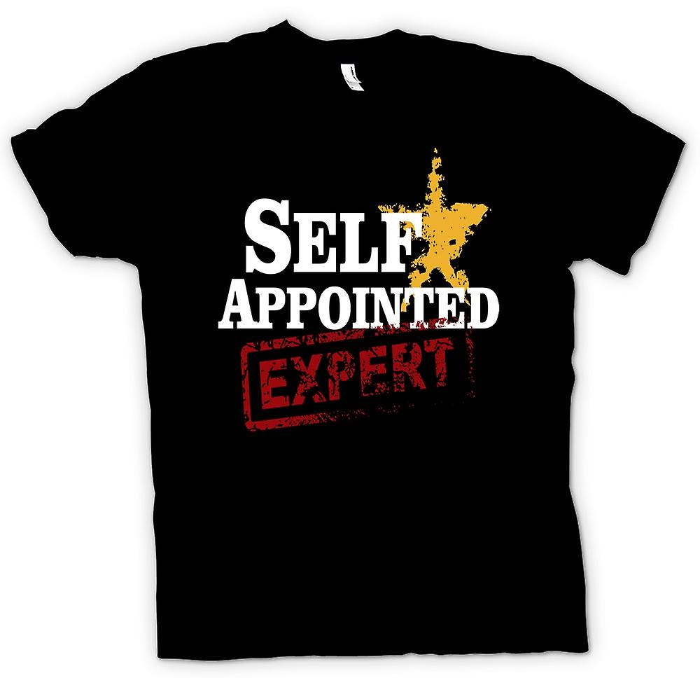 Mens T-shirt - Self Appointed Expert - Funny