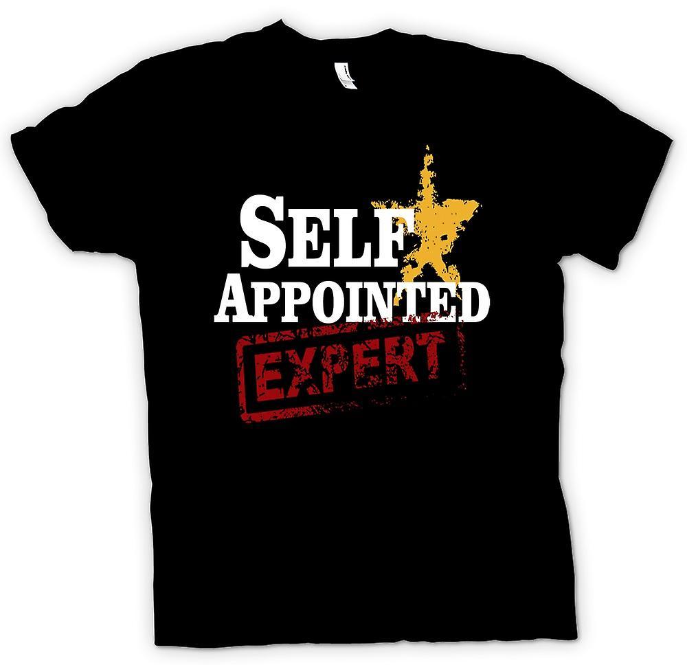 Mens T-shirt - selbst ernannte Experten - lustig