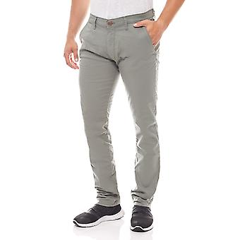 Wrangler stretch mens trousers Lars clay Green