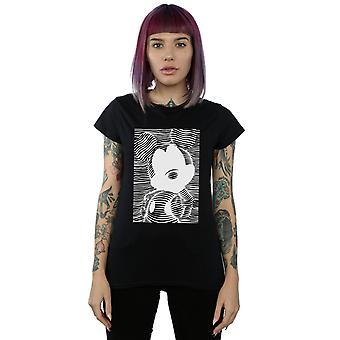 Disney Women's Mickey Mouse Lines T-Shirt