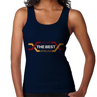 Karate Kid Youre The Best Around Women's Vest