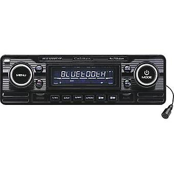 Caliber Audio Technology RCD-120BT/B Car stereo Retro design, Bluetooth handsfree set