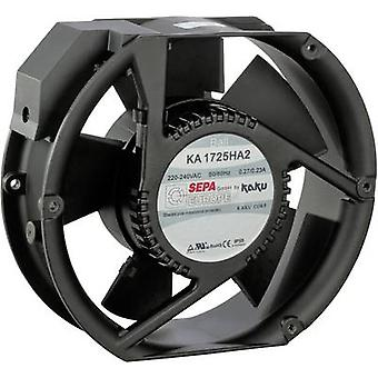 SEPA KA1725HA2BMT/Mg Axial fan 230 V AC 340 m³/h (L x W x H) 173 x 150 x 51 mm