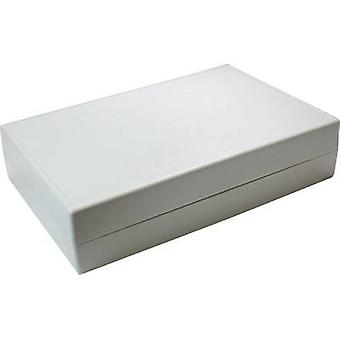 Desktop case 220 x 145 x 50 Acrylonitrile butadiene styrene Grey-white (RAL 7