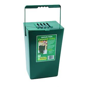 9 Litre Midi Odour Free Compost Caddy Kitchen Waste Bin
