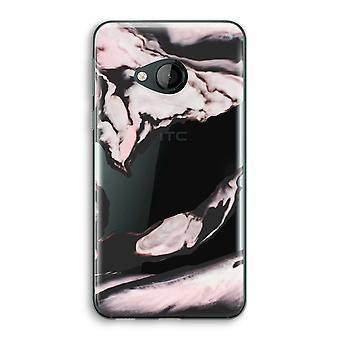 HTC U играть прозрачный корпус (Soft) - розовый поток