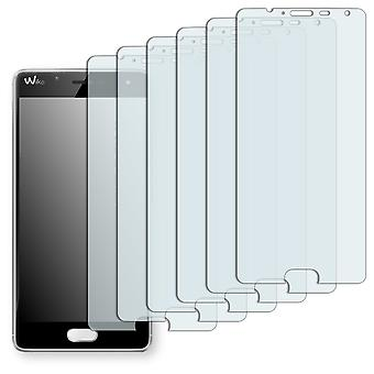 WIKO Ufeel screen protector - Golebo Semimatt protector (deliberately smaller than the display, as this is arched)