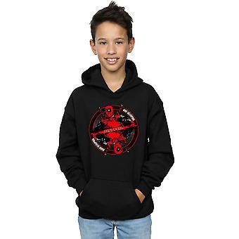 Marvel Boys Deadpool Good Bad Hoodie