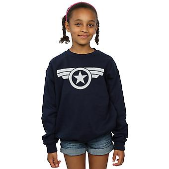 Marvel Girls Captain America Super Soldier Sweatshirt