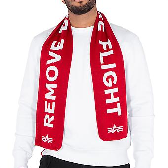 Alpha industries unisex scarf remove before flight