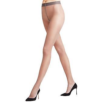 Falke Seidenglatt 15 Den transparante glanzende panty - Platinum Grey