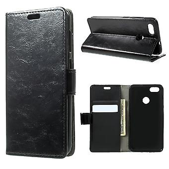 Huawei P9 Little Mini Wallet Case Retro-Black