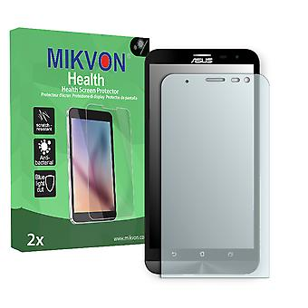 Asus ZenFone 2 Laser (ZE600KL) Screen Protector - Mikvon Health (Retail Package with accessories)