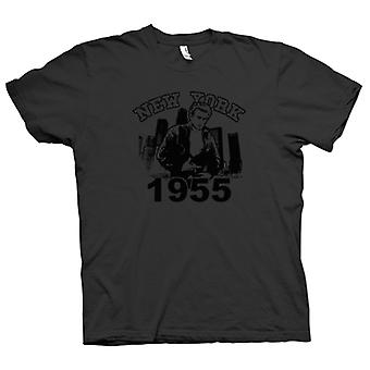Womens T-shirt - James Dean NYC 1955 - Movie Icon