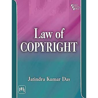 Law of Copyright by Jatindra Kumar Das - 9788120350908 Book