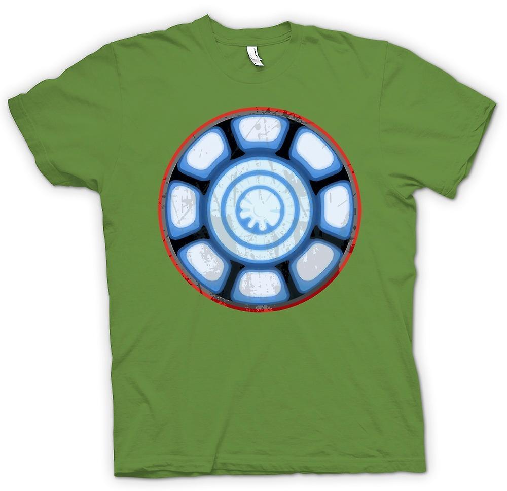 Mens T-shirt - Iron Man Arc Reactor Heart - Cool