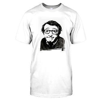Young Woody Allen Portrait Kids T Shirt