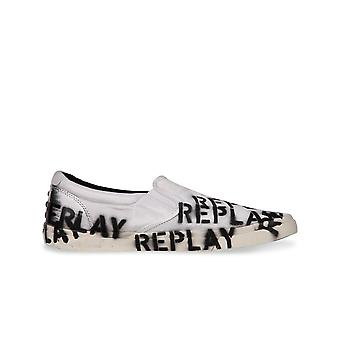 Replay mens sneaker vit