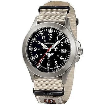 KHS watches mens watch platoon titanium automatic KHS. PTA. NXTLT5