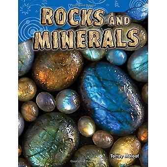 Bergarter och mineraler (grad 2) (vetenskap läsare)