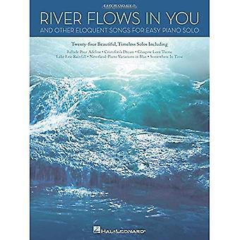Floden flyter i din & andra vältaliga låtar för lätt Piano Solo Pf BK