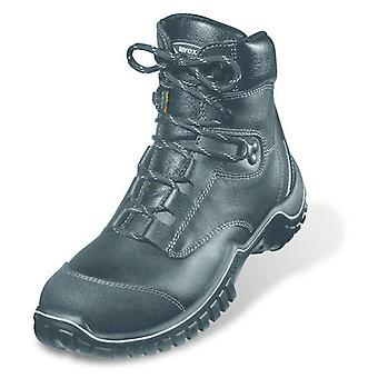 Uvex 6986/2 Size 13 Motion Light Lace Up Safety Boots With Midsole S3 Black EU48