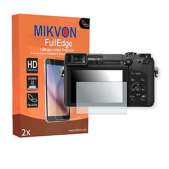 Panasonic Lumix DMC-GX7 screen protector - Mikvon FullEdge (screen protector with full protection and custom fit for the curved display)