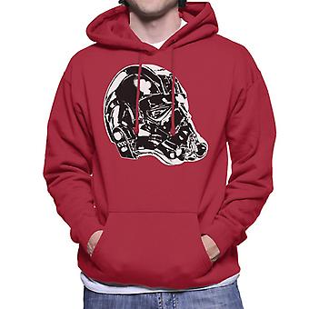 Original Stormtrooper Imperial TIE Pilot Helmet Side Shot Men's Hooded Sweatshirt