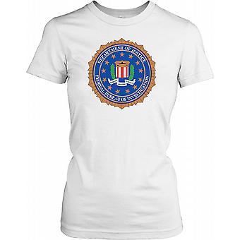 Federal Bureau of Investigation Insignia - FBI Ladies T Shirt