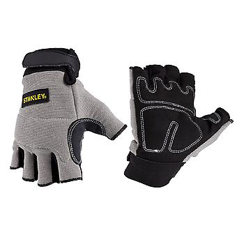Stanley Mens Fingerless rendimiento transpirable guantes