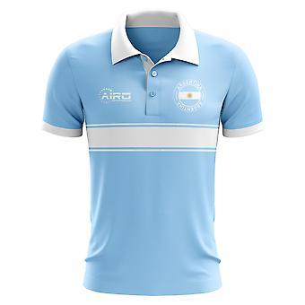 Argentyna koncepcja koszula Polo z paskiem (niebo)