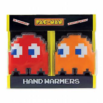 PAC-MAN Ghost Reusable Gel Hand Warmers (Pair)