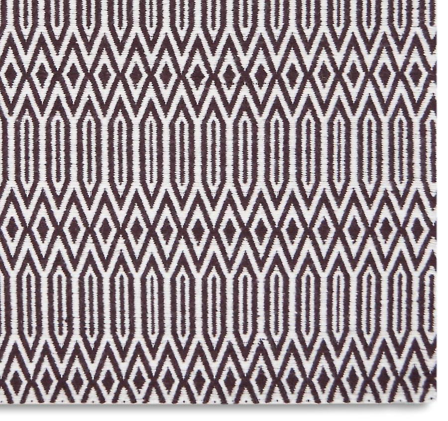 Rugs - Serengeti - Off White & Plum