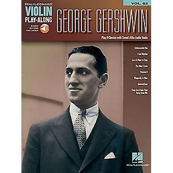 George Gershwin - Violin Play-Along Volume 63 - 9781495062841 Book