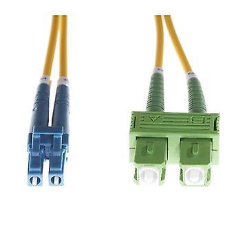 20M LC ScApc Os1 Os2 single mode Fibre optic duplex kabel
