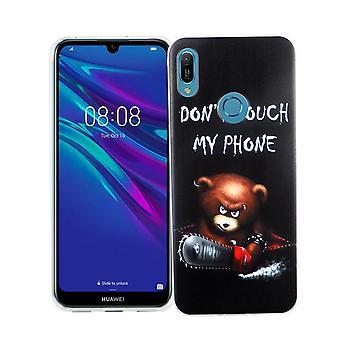 Huawei A6 2019 King Shop téléphone étui protection étui housse pare-chocs dont toucher mon téléphone ours