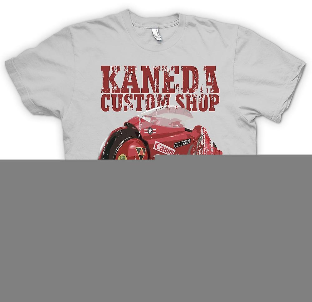 Heren T-shirt-Kaneda Custom Shop - Neo Tokio - Akira
