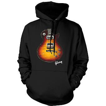 メンズ フーディー - ギブソン レスポール ギター ゴールド - 音楽