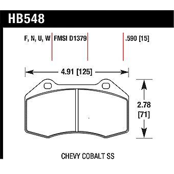 Hawk performance HB548N. 590 HP plus