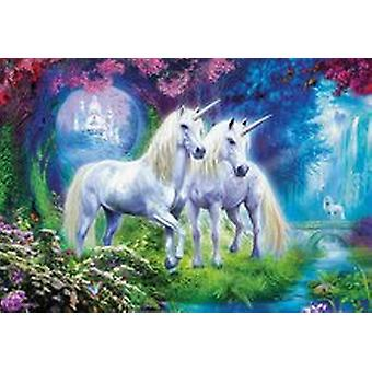 Educa Unicorns In The Forest 500 Piece Fantasy Jigsaw Puzzle