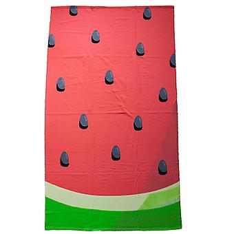 Microfibre Bath Towel, Watermelon XL