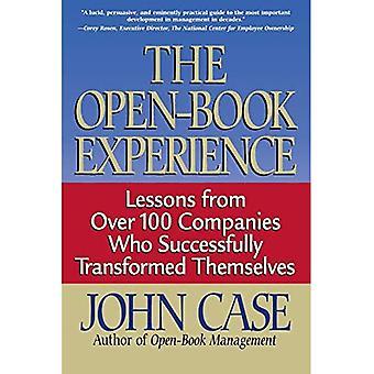 L'esperienza open-book: lezioni da oltre 100 aziende che si sono trasformate con successo