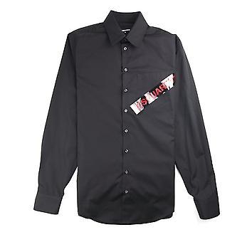 Dsquared2 Tape Pocket Shirt Black